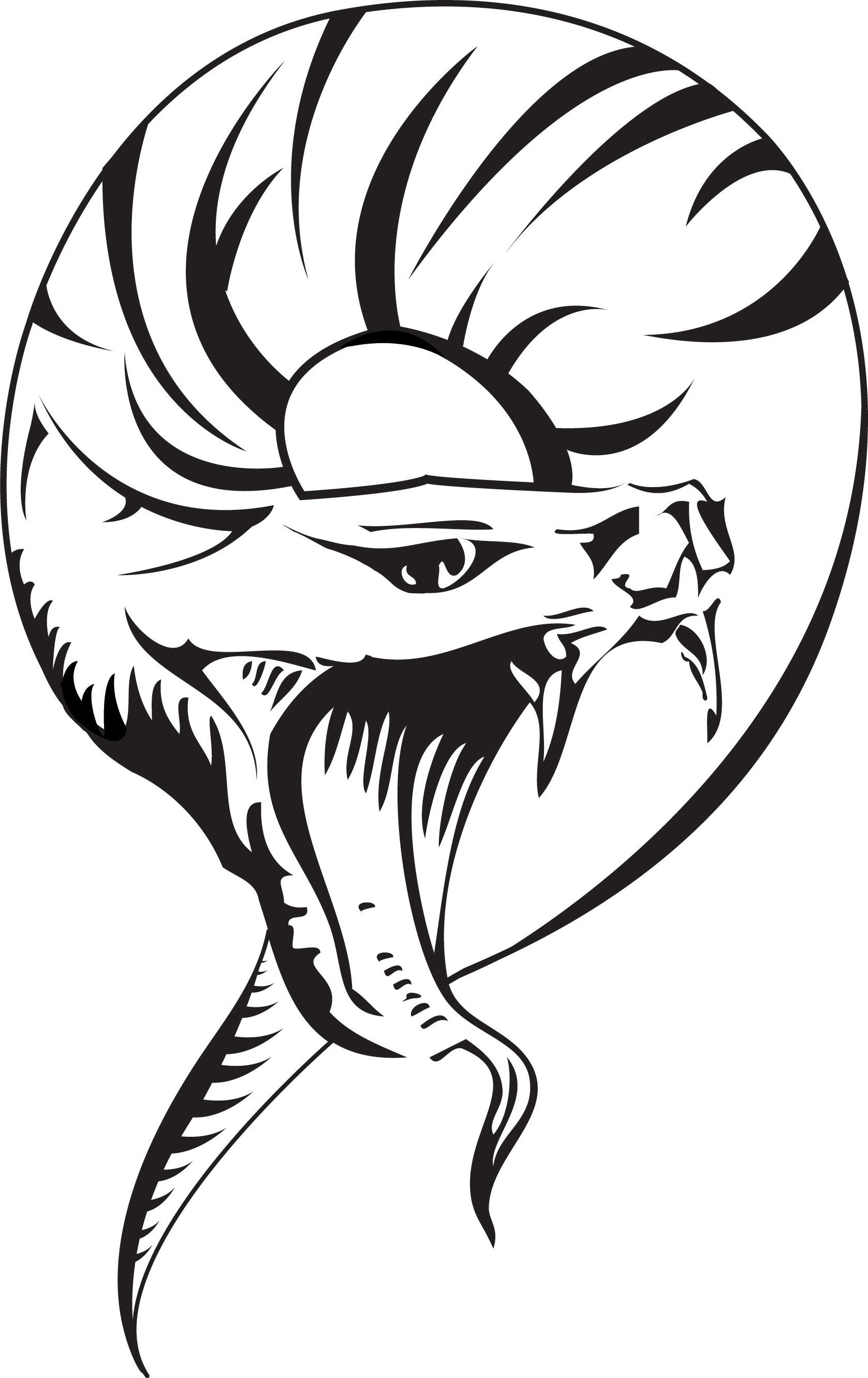 Viper Snake Drawing
