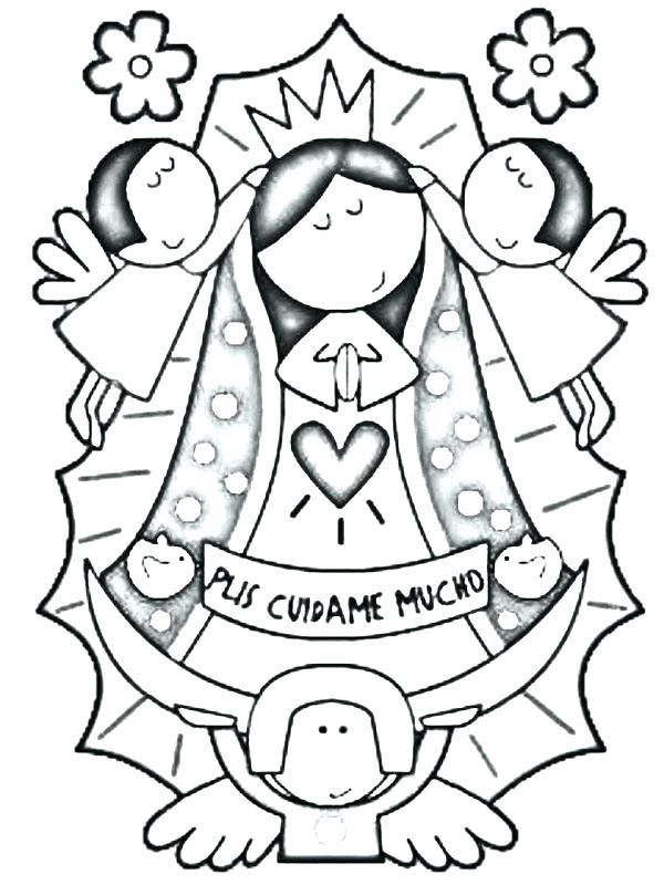 Virgen De Guadalupe Drawing at GetDrawings.com | Free for personal ...