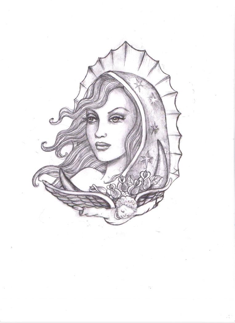763x1048 Virgen De Guadalupe Drawings Virgen Maria De Guadalupekimelizondo
