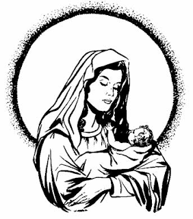 282x320 Beautiful Pictures Of Mother Mary With Child Jesus Christ Choosboox