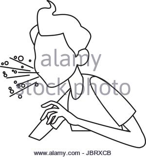 300x324 Influenza Virus, Drawing Stock Photo 67525866
