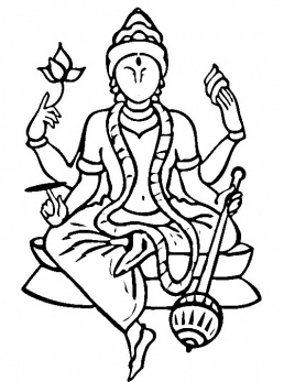 lord brahma coloring pages - photo#11
