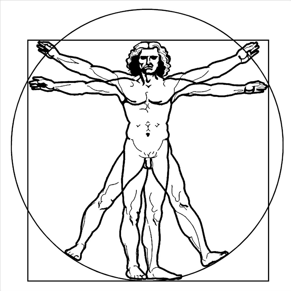 Vitruvian Man Drawing at GetDrawings.com   Free for personal use ...