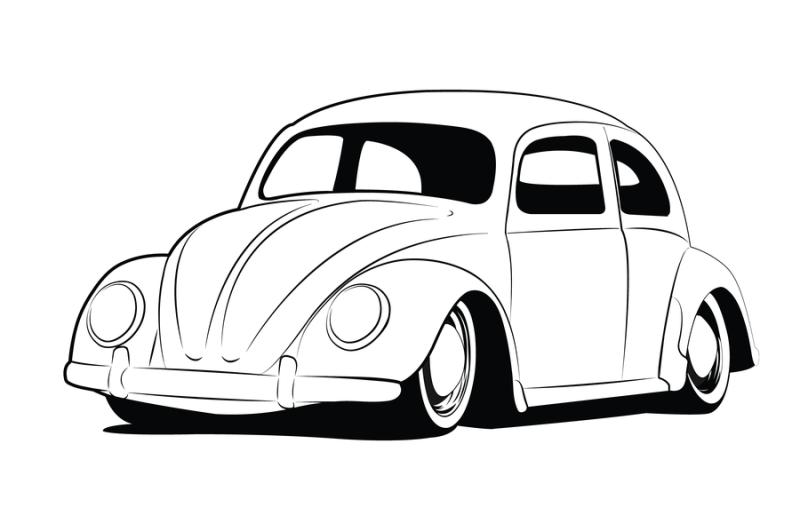 Volkswagen Drawing At Getdrawings Com