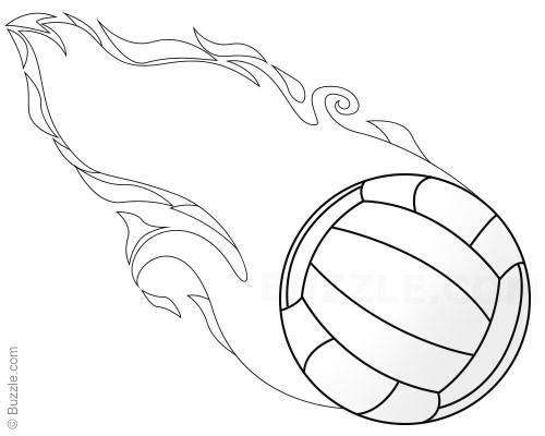 500x400 Over The Net! Easy Steps To Draw 3 Different Volleyballs