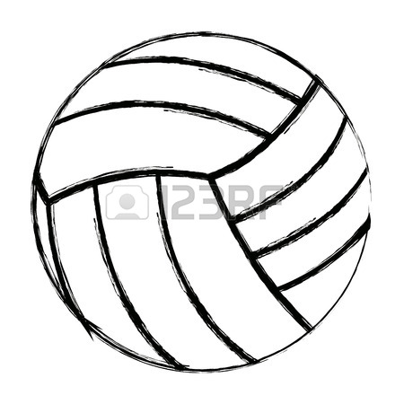 450x450 766 Serving The Ball Stock Vector Illustration And Royalty Free