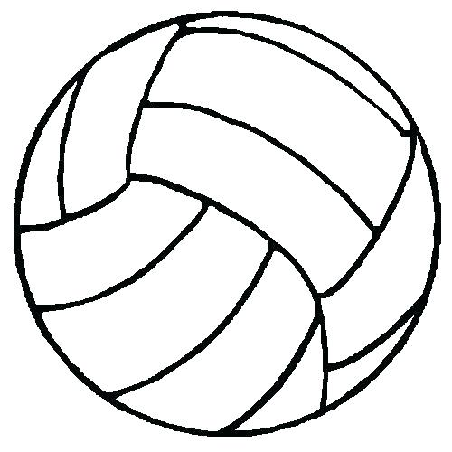 500x500 Best Of Volleyball Coloring Pages Pictures Draw A Volleyball Step