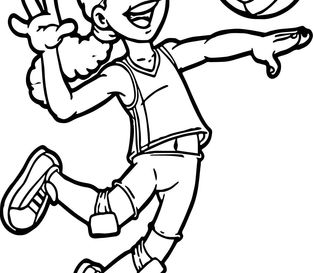 1240x1080 Impressive Picture Of A Volleyball For Coloring Page Best And
