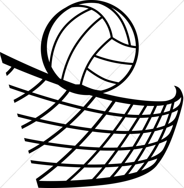 volleyball drawing at getdrawings com
