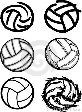 Volleyball Drawing At Getdrawings Com Free For Personal Use