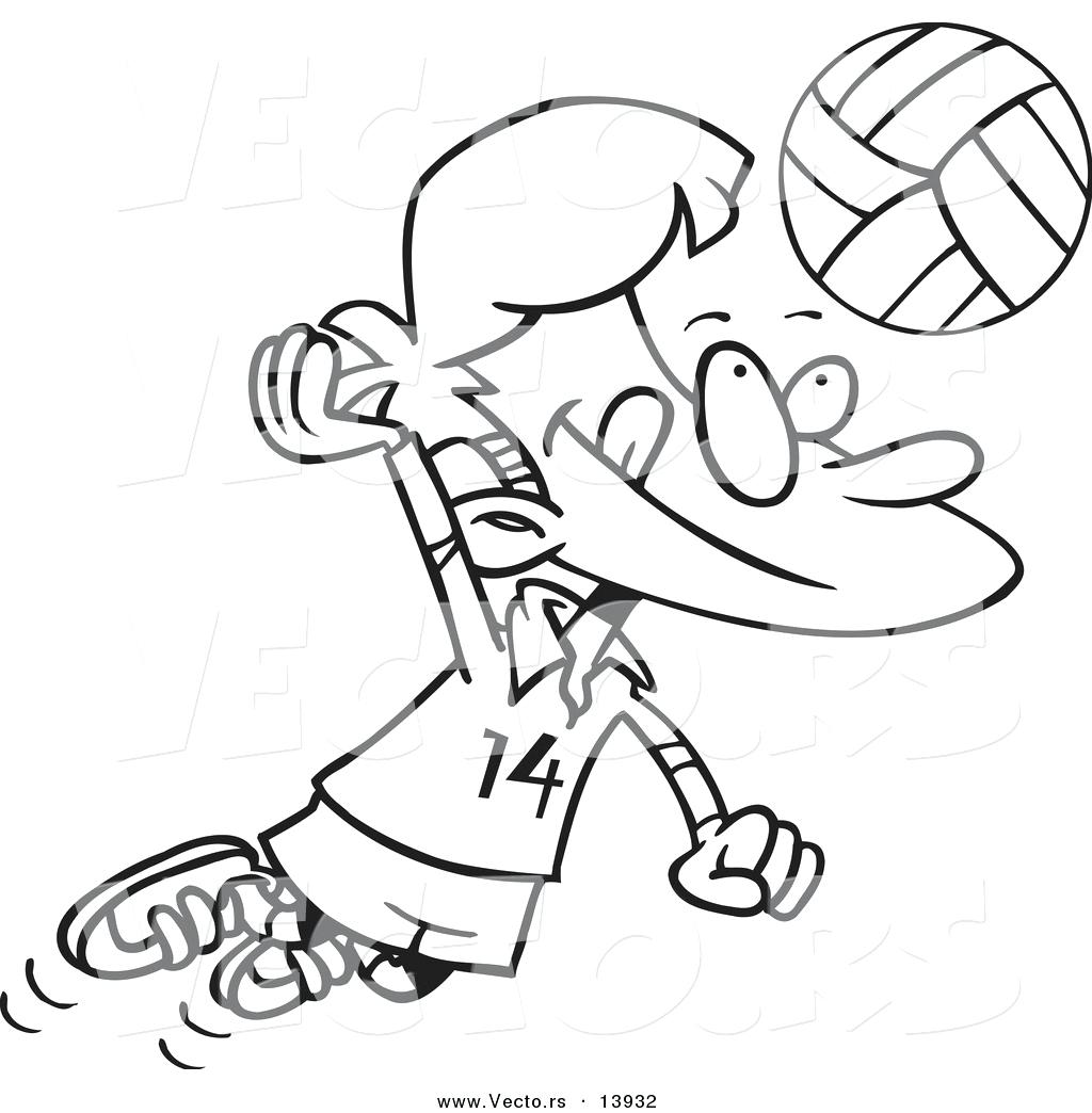 1024x1044 Coloring Volleyball Pages