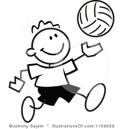400x420 Volleyball Player Clipart Clipart Panda