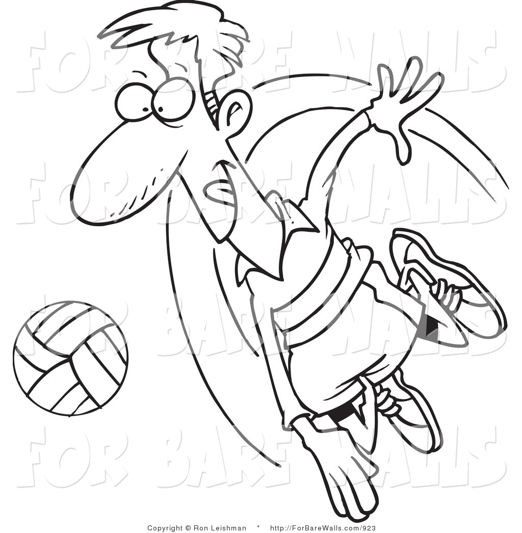1024x1044 Royalty Free Stock Printable Designs Of Volleyball Players