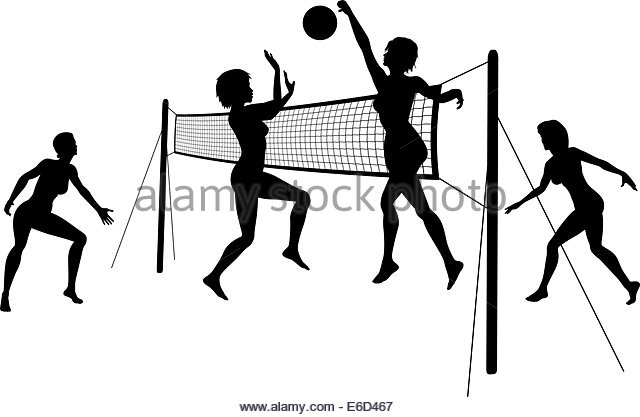 640x417 Volleyball Players Black And White Stock Photos Amp Images