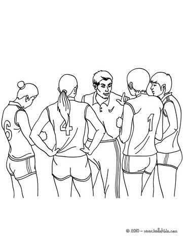 363x470 Volleyball Coloring Page! Color This Volleyball Team Coloring