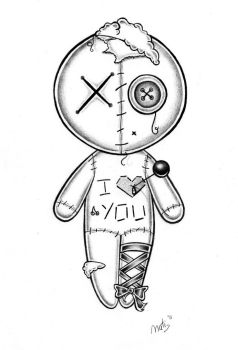 238x350 Voodoo Doll By Nataliarey On Tattoos