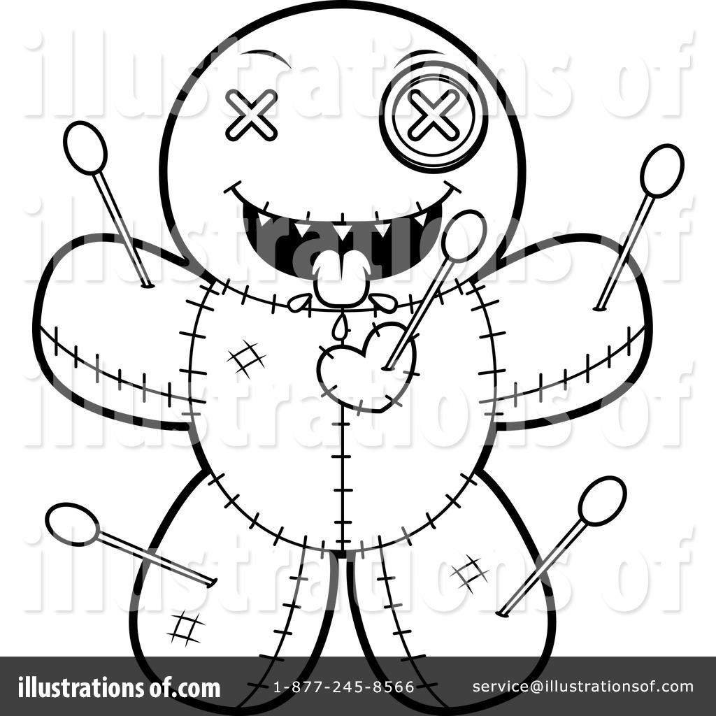 1024x1024 Voodoo Doll Clipart