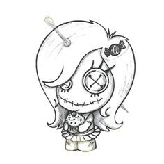 236x236 Voodoo Doll Image Embroidery Voodoo Dolls, Voodoo