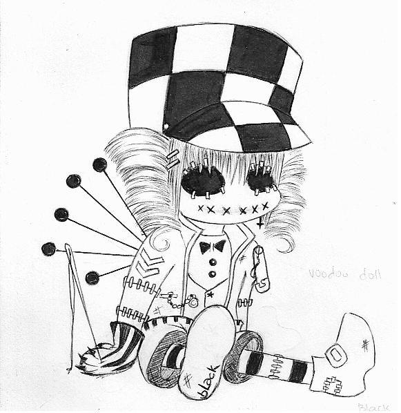 581x598 Voodoo Doll By Clandeztine