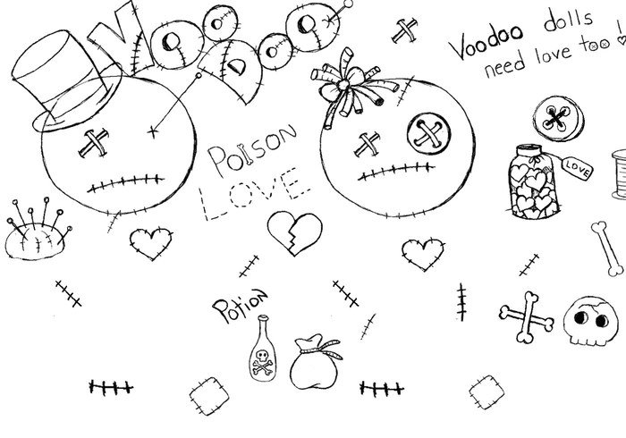 700x490 Free Voodoo Doll Brushes