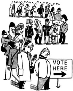 Voting Drawing