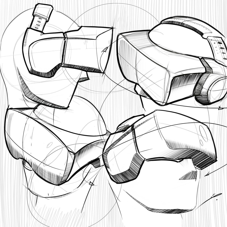 1500x1500 Virtual Reality Goggles