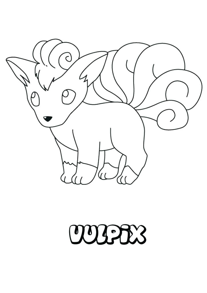 724x1024 Vulpix Coloring Pages Coloring Pages Coloring Pages With Coloring