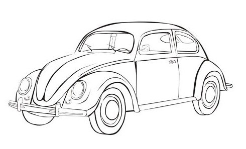 490x297 Fantastic Beetle Car Coloring Pages Photos
