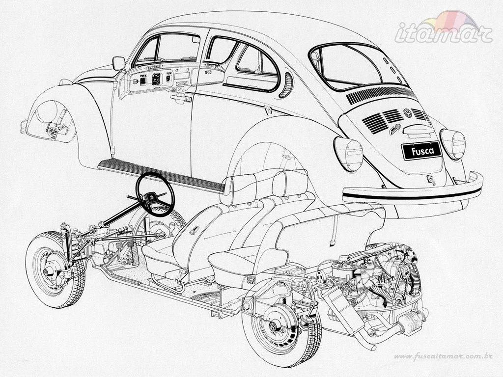 1024x768 Vw Bug Wallpaper By Johnny1978