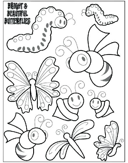 440x560 Bug Coloring Pages Lady Bug Picture Of Lady Bug Coloring Page
