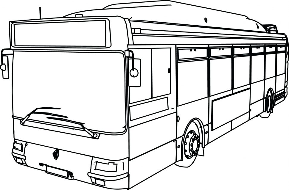 vw bus drawing at getdrawings com