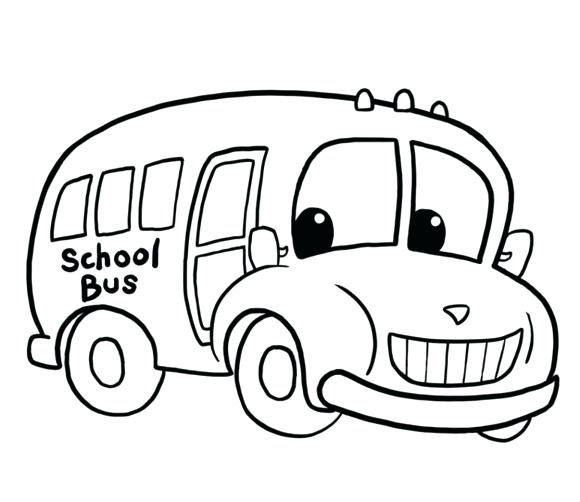 580x502 Top Rated Bus Coloring Page Pictures Simple Bus Coloring Pages Vw
