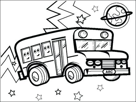 440x330 Vw Bus Coloring Page Bus Coloring Pages Coloring Pages Vw Bus