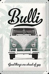 200x300 Vw Camper Van Metal Signs Vw Bulli Vintage Retro Tin Signs Metal
