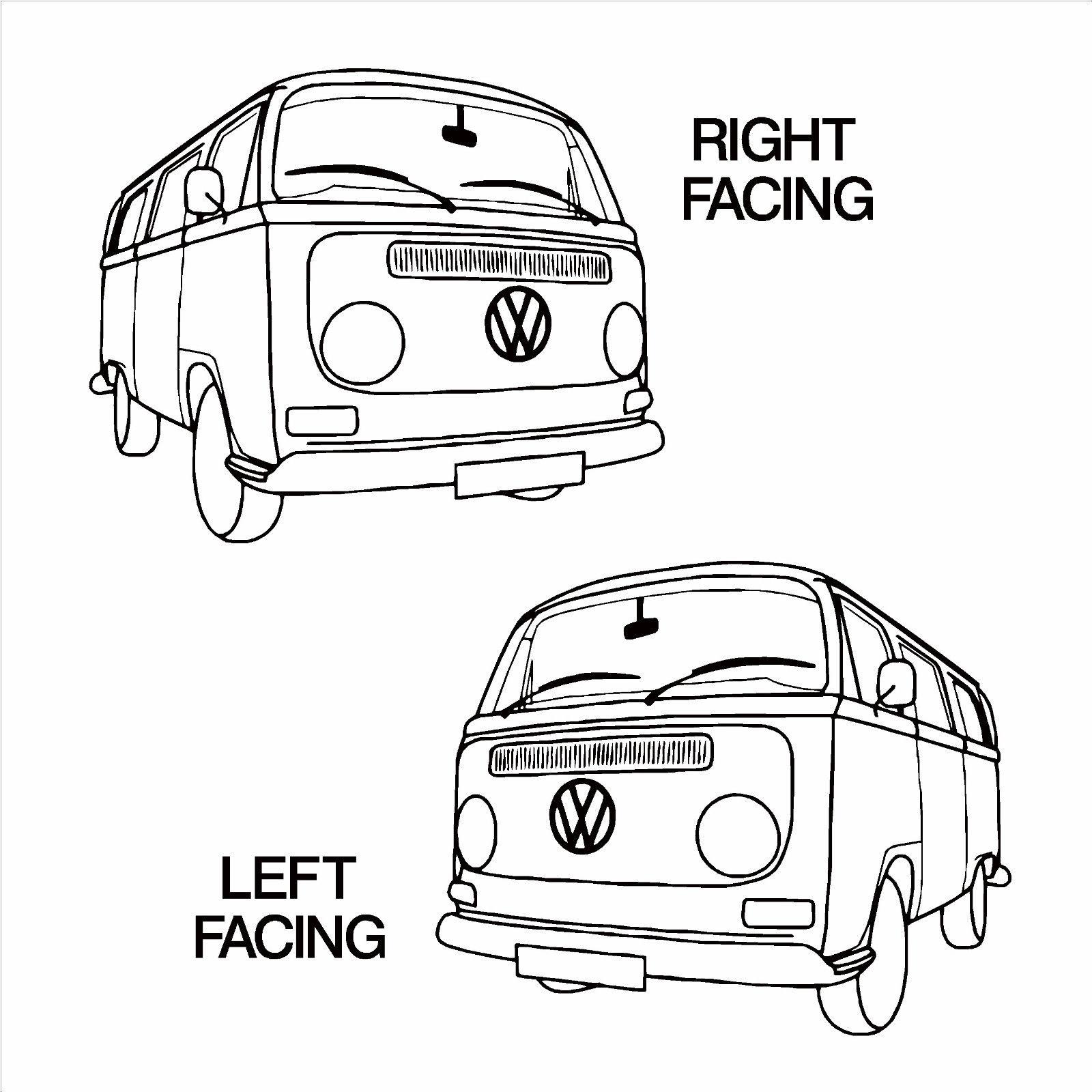 vw van drawing at getdrawings com
