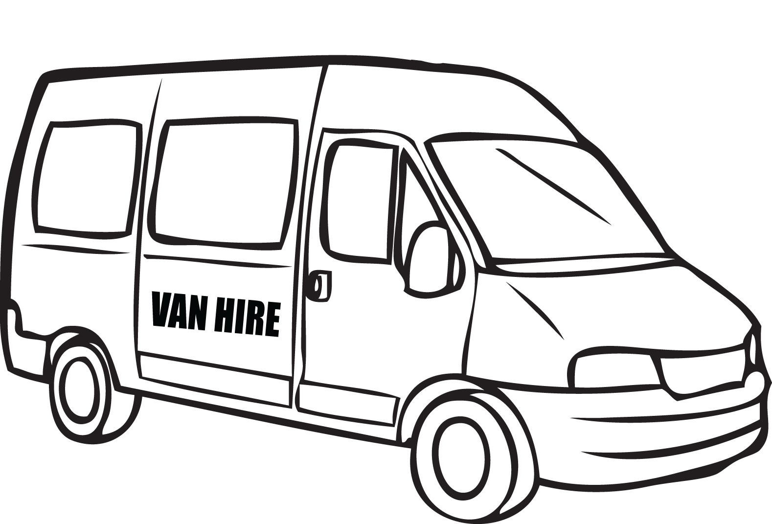 vw van drawing at getdrawings com