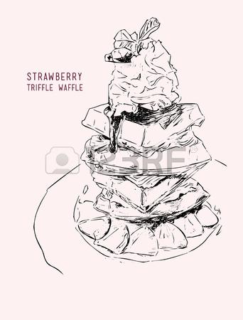 Waffle Drawing