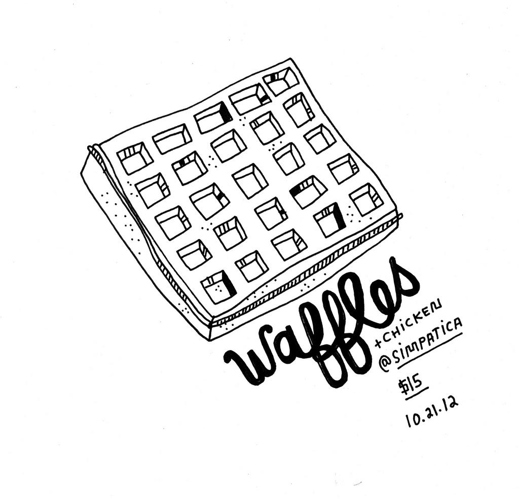 waffle drawing at getdrawings com
