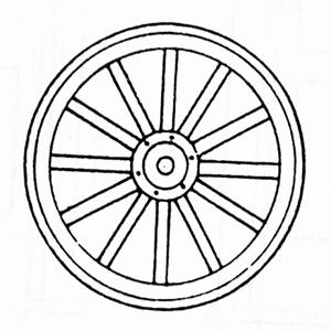 300x300 Image Result For Wagon Wheel Drawing Tattoos Wagon