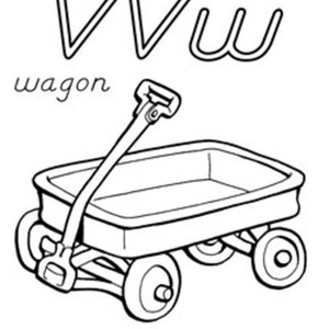 Wagon drawing at free for personal use for Wagon coloring pages