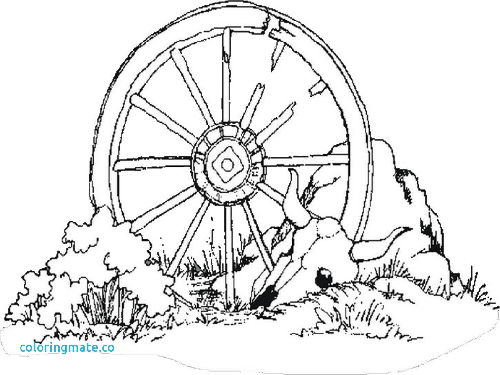 1024x768 Letter G Coloring Pages Fresh Cartoon Wagon Wheel Bing Images