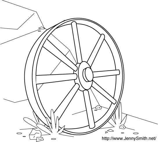Wagon Wheel Drawing at GetDrawingscom Free for personal use Wagon