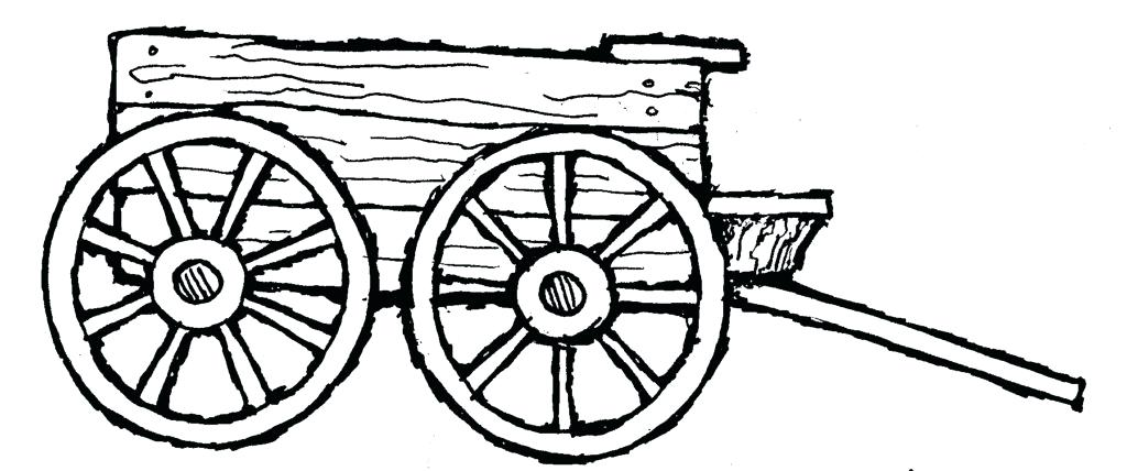 1024x428 Covered Wagon Coloring Page Coloring Pages Covered Wagon Page