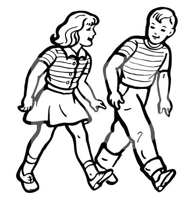 400x420 Walking Clipart Free Free Clipart Feet Walking Memocards.co
