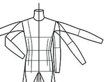 340x270 Fashion Figure Template Runway Finale Walk Line Up