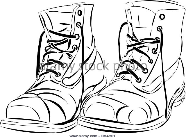 640x478 Walking Shoes Vector Vectors Stock Photos Amp Walking Shoes Vector
