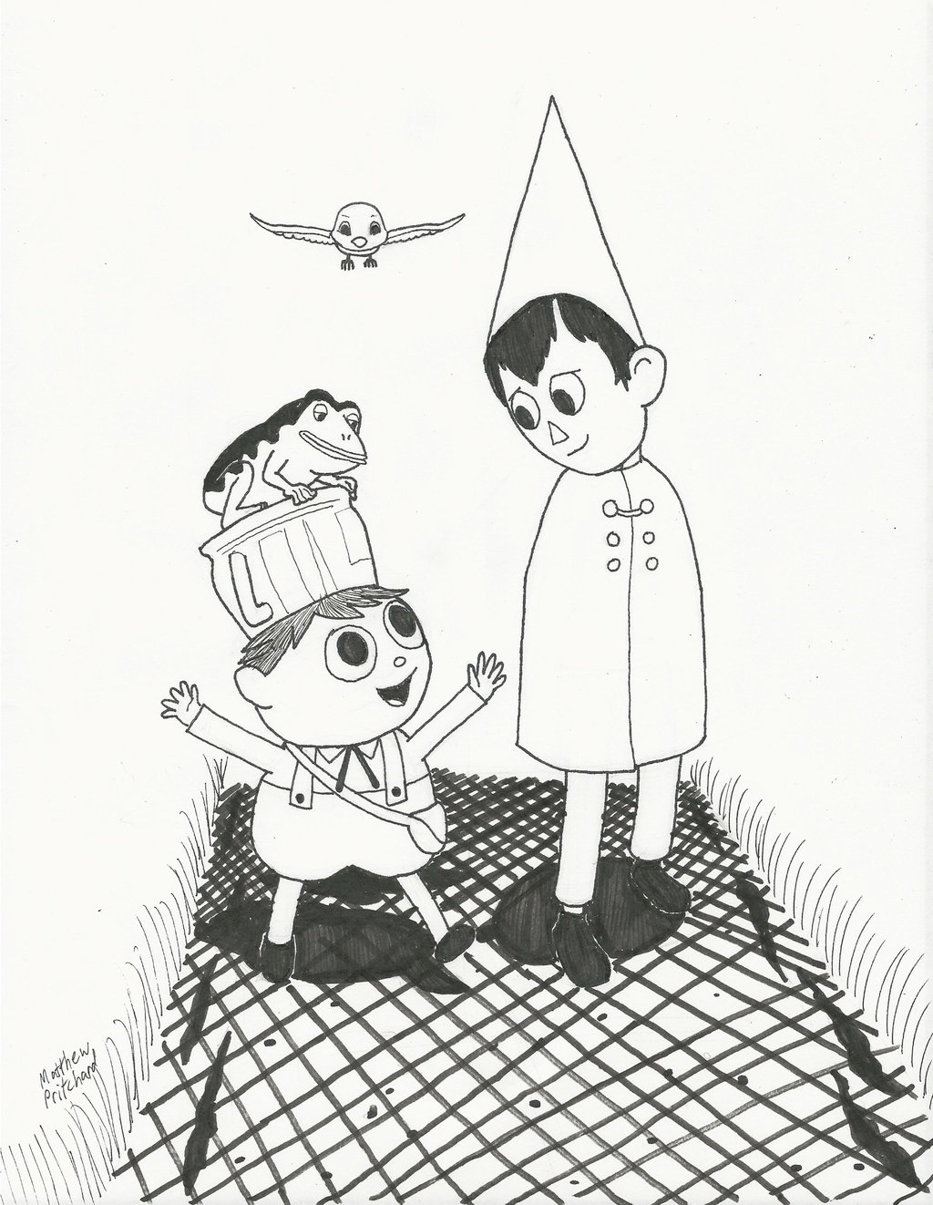 1024x1322 Over The Garden Wall By Mrblue8