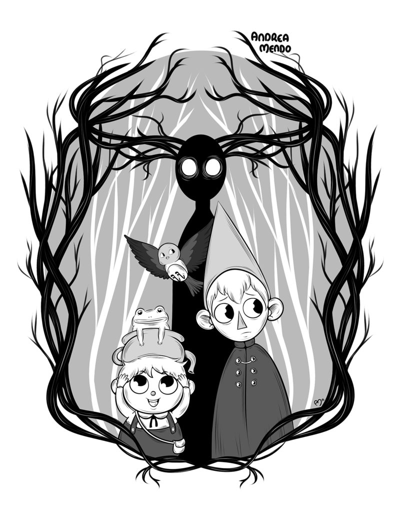 800x1036 Over The Garden Wall By Andymendo