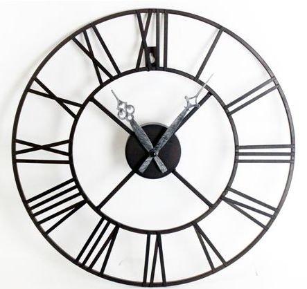 443x418 Laurel Foundry Roman Numeral 40cm Metal Wall Clock Amp Reviews