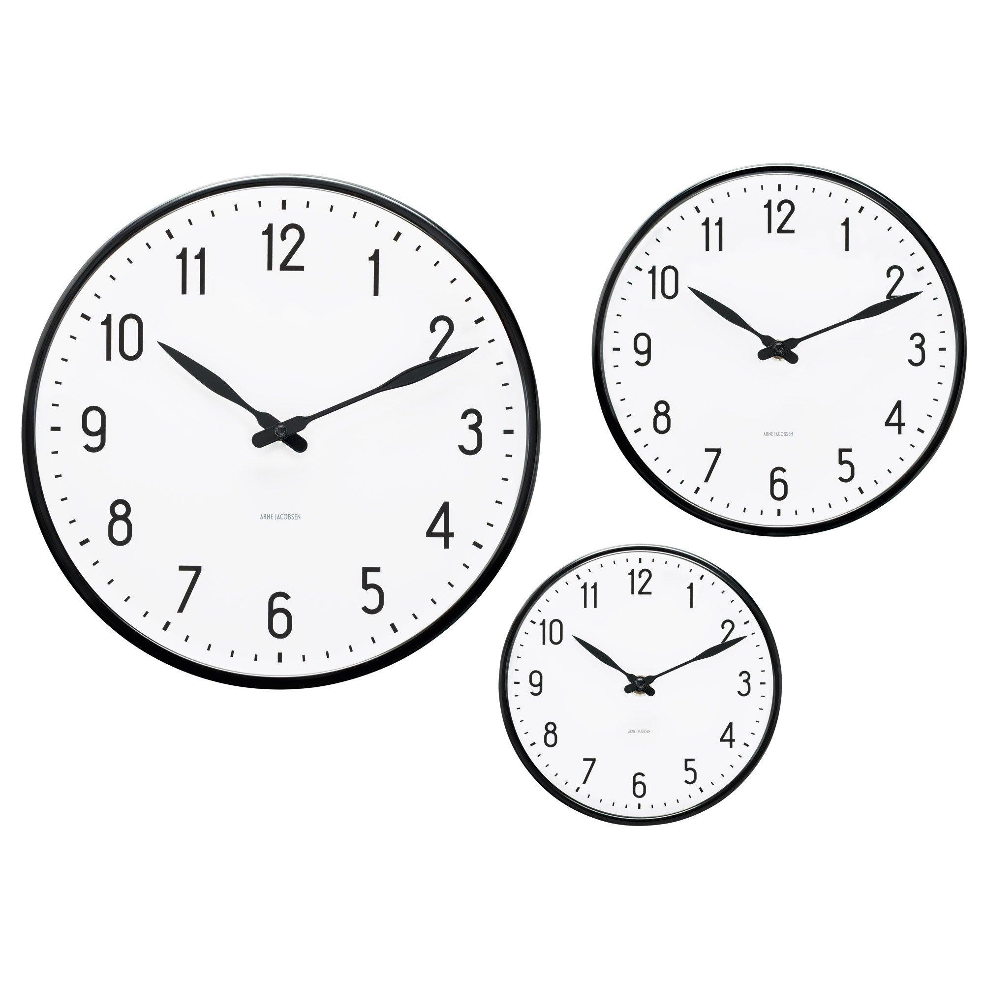 2000x2000 Station Wall Clock Skandium